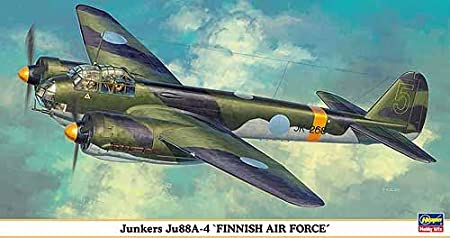 Maquette avion: Junkers JU 88A-4 Finnish Air Force