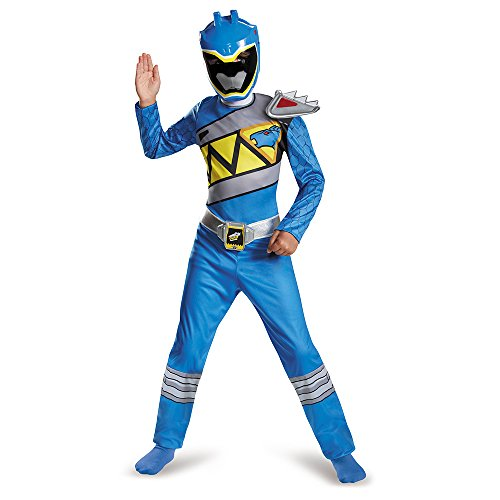 Disguise Blue Ranger Dino Charge Classic Costume, Small (4-6) (Power Rangers Blue Costume compare prices)