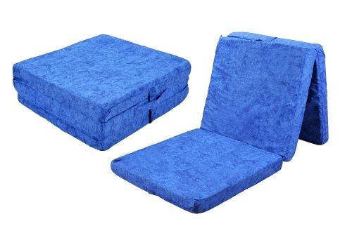 zhg faltmatratze g ste matratze klappmatratze blau. Black Bedroom Furniture Sets. Home Design Ideas