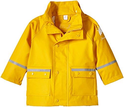 Sterntaler Baby - Jungen Regenmantel 5651405, Gr. 74, Gelb (safran 164) -