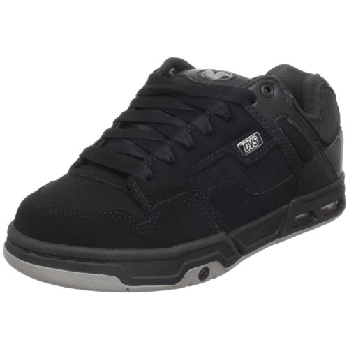 DVS Men's Enduro Heir Skate Shoe,Black/Grey,11 M US