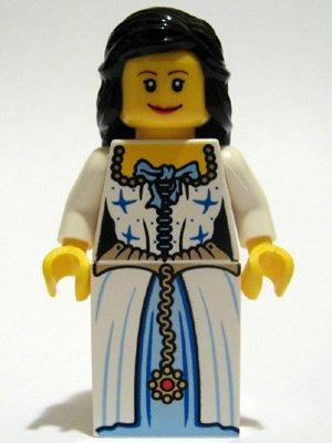 LEGO PIRATEN - seltene Minifigur Sammelfigur ADMIRALS TOCHTER aus Set 6243 - FRAU - FRÄULEIN - MÄDCHEN