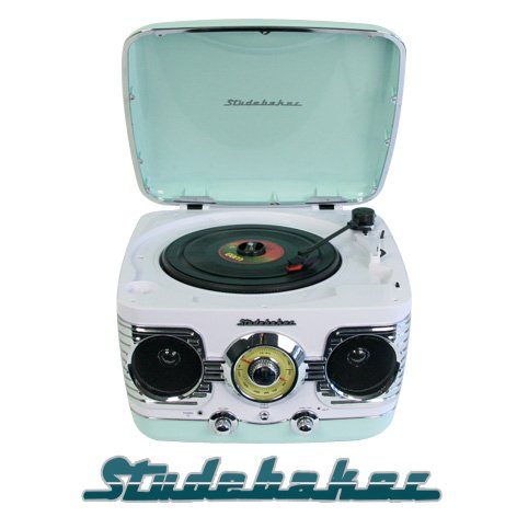 tourne disque vinyl retro vintage radio tuner studebaker pictures. Black Bedroom Furniture Sets. Home Design Ideas