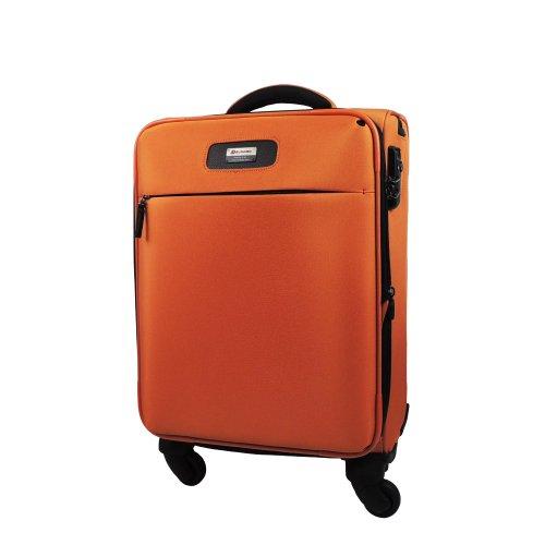 【 President 】ワンランク上のこだわり TSAロック搭載  【ECHOLAC エコーラック CT496】 4COLOR 3サイズ【大型、中型、小型】 (1.大型 Lサイズ 105リットル, オレンジ)