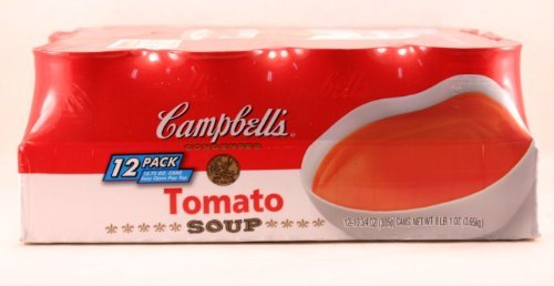 Campbell's Tomato Soup - 12/10.75 oz. cans (1 Can Tomato Soup compare prices)