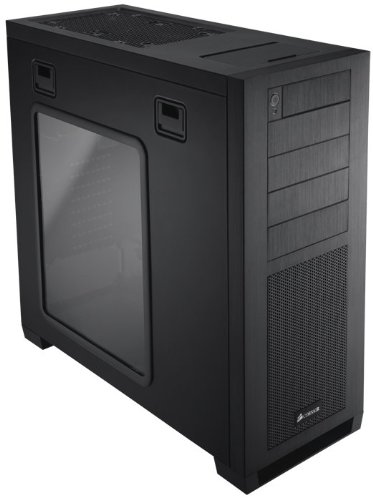 Corsair Obsidian 650D CC650DW-1 Aluminum Mid Tower ATX Enthusiast Computer Case - Black