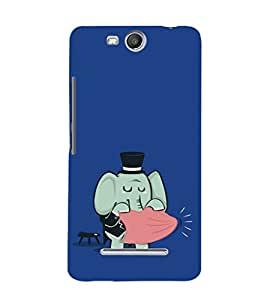 Ebby Premium Printed Mobile Back Case Cover With Full protection For Micromax Canvas Juice3 Q392 (Designer Case)
