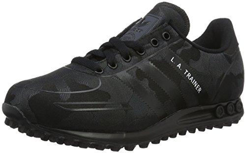 Adidas la Trainer Wv, Scarpe da Ginnastica Uomo, Nero (Cblack/Cblack/Ftwwht), 43 1/3 EU