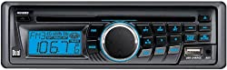See Dual XD1222 In-Dash AM/FM CD Player with Front Panel Aux Input and USB Charging Port Details