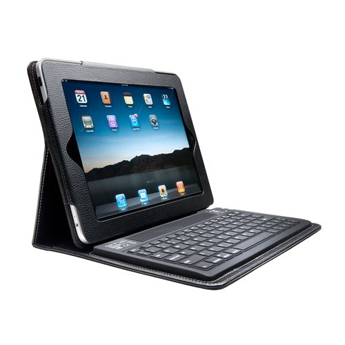 Kensington 2nd Generation KeyFolio Bluetooth Keyboard Accessory Case for Apple iPad 2 2nd Generation WiFi / 3G Model 16GB, 32GB, 64GB NEWEST MODEL & for Apple iPad 1 OLDER ORGINAL MODEL (Black)