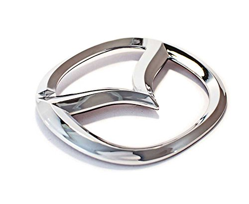 New Mazda front chrome mascot emblem autocollant 2009-2011