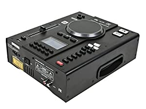 Monoprice Tabletop DJ CD Player with USB Flash Player and FX