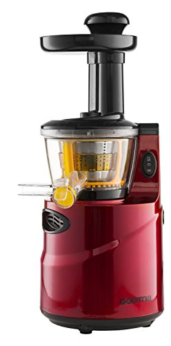 Gourmia GSJ200 Masticating Slow Juicer, Max Nutrient Fruit and vegetable Juice - 110/120v Home ...