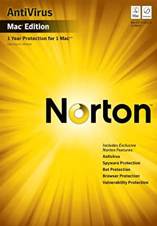 Norton Antivirus for Mac 11.1 [Old Version]