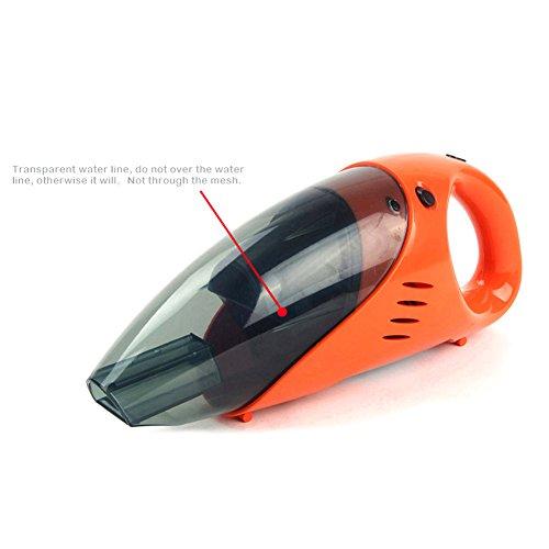YGY auto aspirapolvere portatile 5013A 100W 12V Auto, Wet & Dry, leggero Buster polvere per le automobili / Vehicles / Auto / Truck / Cucina / Sofa and More (arancione)