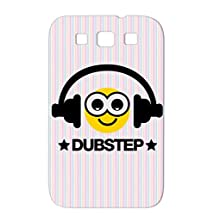 Durable Smiley Dubstep F3 Gold For Sumsang Galaxy S3 Culture Mixtape Youth Graffiti Deejay MC Old School Rap Music Miscellaneous Music Hip Hop Graffiti Spray Can Breakdance DJ Beat Electro Party Headphones Urban Dance Case Cover