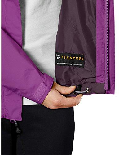 Jack Wolfskin Damen Wetterschutzjacke Spark Texapore Vent Jacket W, Hyacinth, M, 1106201-2055003 -