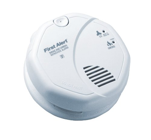 Brk Sc7010B - Smoke And Carbon Monoxide Alarm - Photoelectric - Detects Flaming Fires And Co Hazard - 120V Wire-In With 'Aa' Battery Backup - Interconnectable