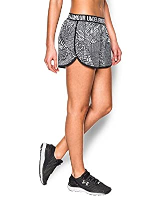 Under Armour Women's Print Perfect Pace Shorts
