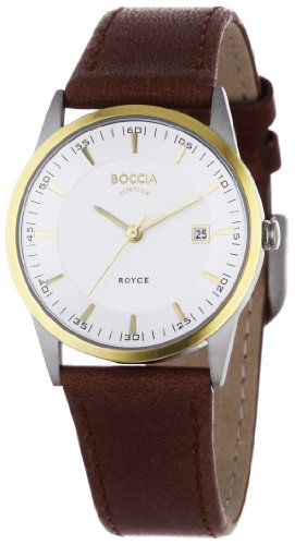 Boccia Dress 3184-02 Ladies Watch with Leather Strap