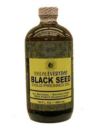Black Seed Oil - 100% Pure and Cold Pressed - Imported Seed from India 16 OZ - Cold Pressed in NY - 100% Hexane Free - NON GMO, Vegan and Halal (Pressed From compare prices)