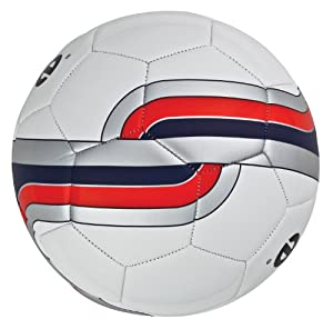 Regent Mitre #5 Tension Soccer Ball (White/Red) at Sears.com