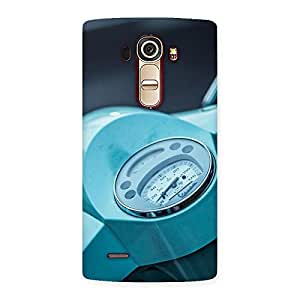 Stylish Scooter Meter Multicolor Back Case Cover for LG G4