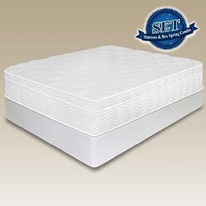"""$Best sale 12"""" Sleep Master Euro Box Top Spring Mattress"""