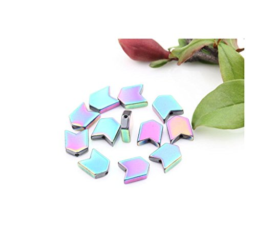 Lots Hematite Gemstone Tube Square Cube Oval Crafts Jewelry Findings Charm Bead Style:A0488-J-15Pcs