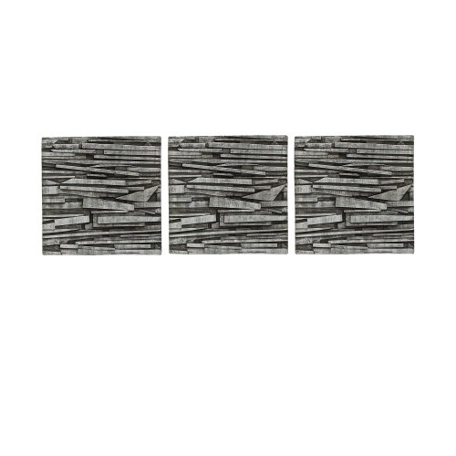 Umbra Tali 12-Inch-by-12-Inch Resin Wall Decor Tiles, Set of 3