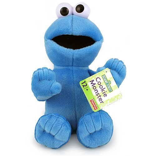 Fisher-Price Cookie Monster Plush Doll [9.5 inches]