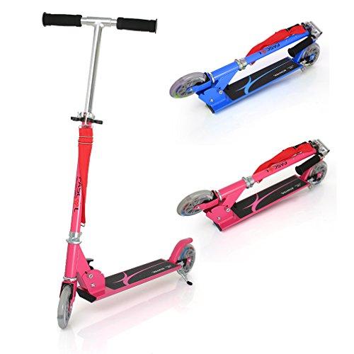 Recomendado!! Patinete plegable con dos ruedas de Fascol Patinete