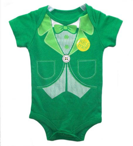 St Patricks Day Baby Outfit front-1052320