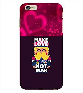 PrintDhaba Love Quote D-1050 Back Case Cover for APPLE IPHONE 6 (Multi-Coloured)