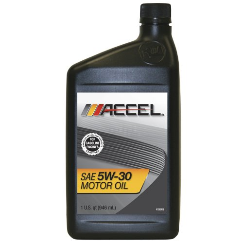 Accel 61325 Sae 5w 30 Motor Oil 1 Quart Bottle Case Of