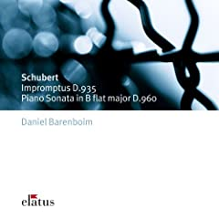Schubert : 4 Impromptus D935 : No.4 in F minor