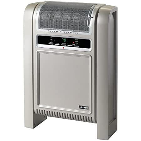 Lasko 758000 Cyclonic Ceramic Heater. Percision Electronic Controls and Adjustable Thermostat. 2 Quiet Comfort Settings 1500W 75 at Sears.com