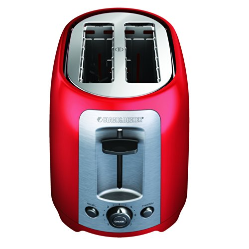 BLACK+DECKER TR1278RM 2-Slice Toaster, Red (Small Conveyor Oven compare prices)