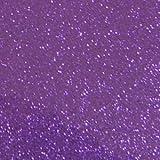 グリッターシート/シールタイプ(パープル 紫)30cm×30cmラメで目立つ! コンサート ジャンボうちわ等の作成に!