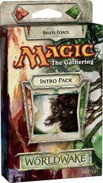 Magic the Gathering - MTG: Worldwake Theme Deck - Brute Force (Red/Green) by Wizards of the Coast