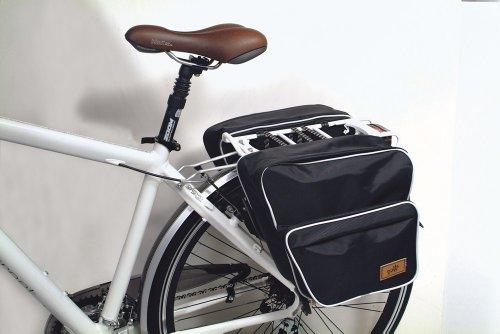 Borsa posteriore per bicicletta al portapacchi 1028 35x35x15 Dieffe