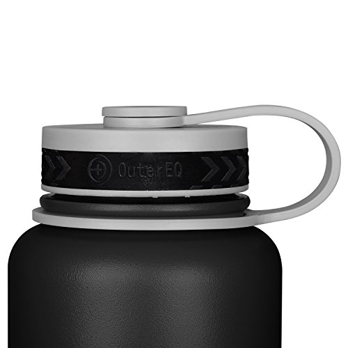 OuterEQ Insulated Stainless Steel 32 oz Water Bottle ...