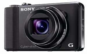 Sony HX9VB Digitalkamera (16 Megapixel, 16-fach opt. Zoom, 7,5 cm (3 Zoll) Display, 24-mm-Weitwinkel, Full-HD-Videoaufnahme, GPS) schwarz