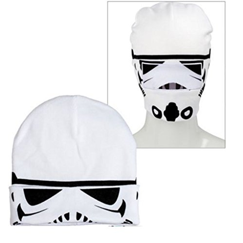 Stormtrooper Roll-Down Beanie Hat ~ Adult Size