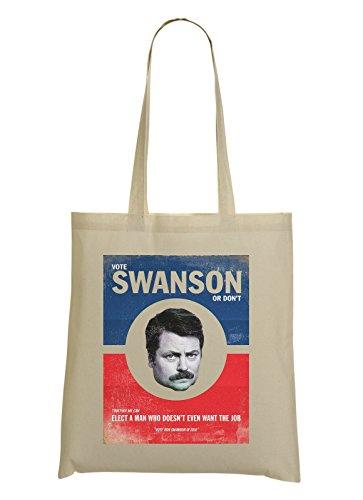 vote-ron-swanson-poster-tote-bag