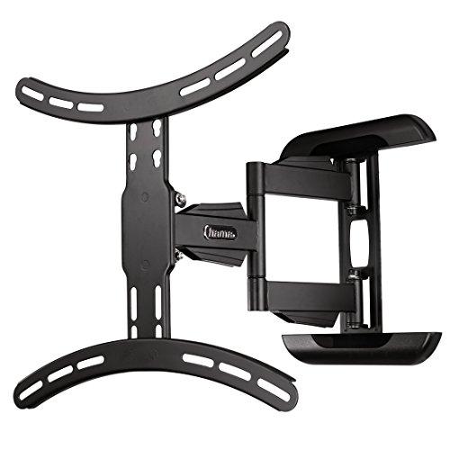 Hama TV-Wandhalterung Fullmotion, neigbar, schwenkbar (vollbeweglich), für 81 – 142 cm Diagonale (32 – 56 Zoll), für max. 25 kg, VESA bis 400 x 400, schwarz
