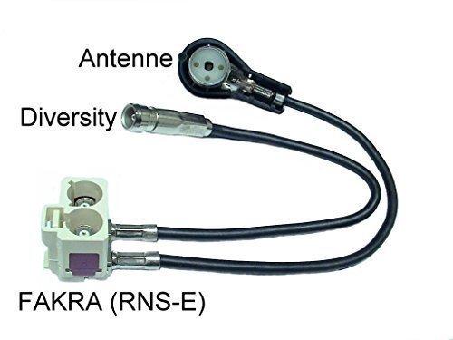 Antennenadapter Diversity Navigationseinheit RNS D auf RNS E