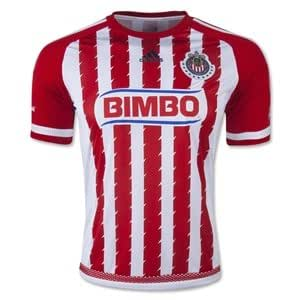 Amazon.com : New! Youth 2015-2016 Red Chivas Guadalajara Soccer Home
