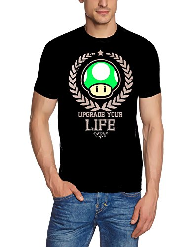 Coole-Fun-T-Shirts T-Shirt Upgrade Your Life / Super