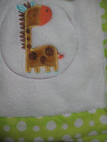 Sumersault Baby Soft Giraffe Blanket